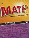 Glencoe Math Course 3 Student Edition, Volume 1, McGraw-Hill, Glencoe, 0076615308