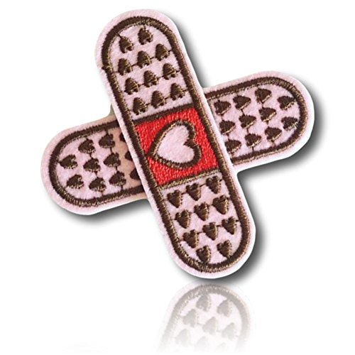 Appliques Red Heart Polyester ([Single Count] Custom and Unique (2.5