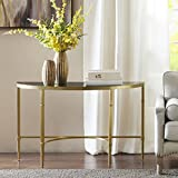 Echo Console Table Gold See Below
