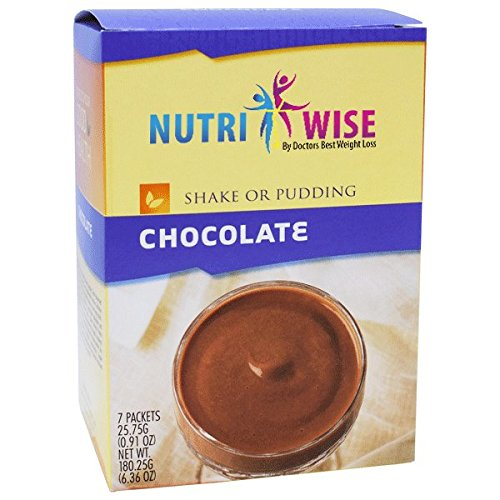 NutriWise - Chocolate Protein Diet Shake/Pudding (7/Box) by NutriWise
