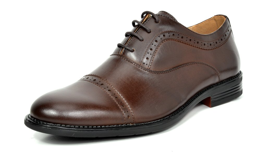 Bruno Marc Men's Downing Leather Lined Dress Oxfords Shoes