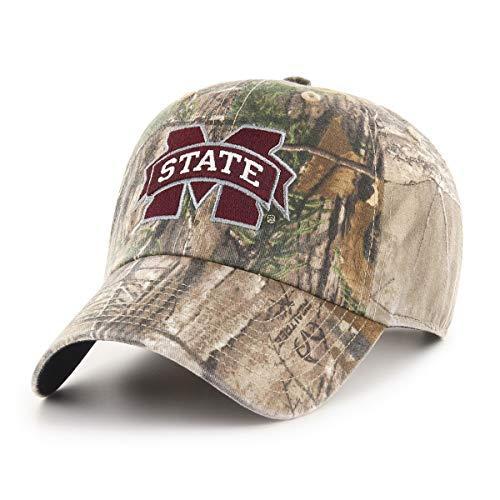- NCAA Mississippi State Bulldogs Realtree OTS Challenger Adjustable Hat, Realtree Camo, One Size