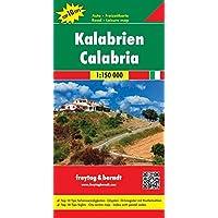 Kalabrien, Autokarte, 1:150.000, Top 10 Tips, freytag & berndt Auto + Freizeitkarten
