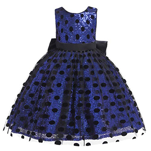 Sunyastor Girls Costume Cosplay Dress Dot Tulle Bow