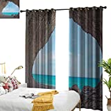 Best  - longbuyer Natural Cave Thermal Insulating Blackout Curtain Dreamy Review