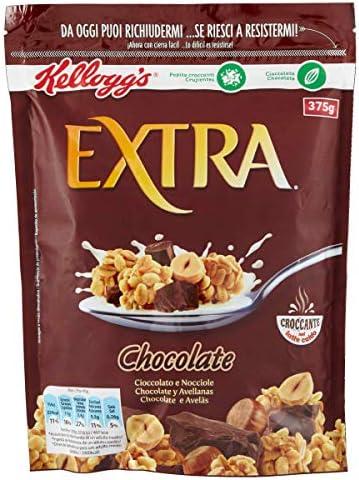 Extra - Crujientes granolas de avena con Chocolate, 375 g: Amazon ...