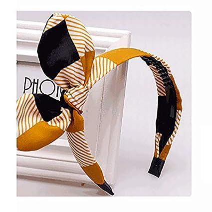 Leisial Fasce per Capelli Accessori per Capelli Elastic Fascia per Capelli da Stampa Accessori per Capelli Turbante per Donna