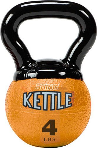 Champion Sports Kettle Bell Weights, 4-Pound