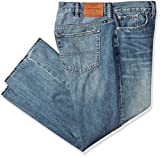 Lucky Brand Men's Big and Tall 181 Relaxed Straight Jean, Bluff Lake, 50X30