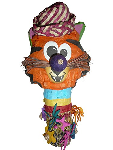 Fetch-It Pets Zoo Chew Tiger Bird Toy by Fetch-It Pets