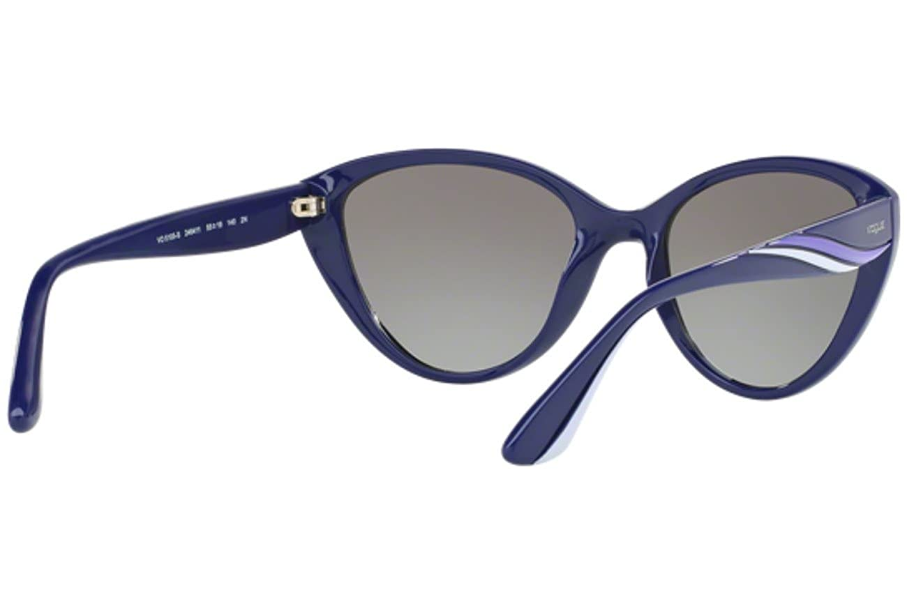 Vogue VO5105S Sunglasses 246411-55 - Blue Frame, Grey ...