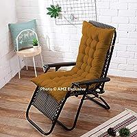 AMZ Exclusive Soft Rocking Chair Cushions Home Cotton Cushion Long Chair Pad (48 x 16 inches,Set of 1)