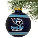 Tennessee Titans 2012 Team Logo Glass Ball Ornament