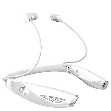 PowerLead Phad H1022 Bluetooth auriculares Bluetooth auriculares inalámbricos con auriculares Bluetooth 4.1 retráctil auricular con micrófono