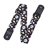 Q QINGGE Ukulele Strap Well made strap for Ukulele and kids' guitars (gray)