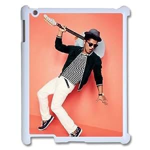 C-EUR Cover Case Bruno Mars customized Hard Plastic case For IPad 2,3,4