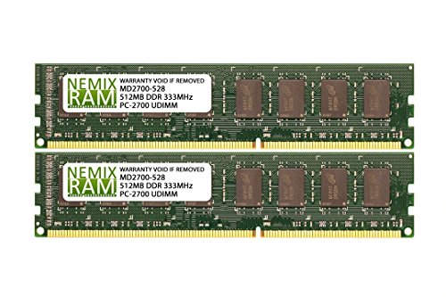 333MHz PC2700 184-pin Memory RAM DIMM for Desktop PC ()