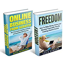Freedom & Online Business from Scratch Box Set Audiobook by Kitti Neumann, Lela Gibson Narrated by Amy Barron Smolinski