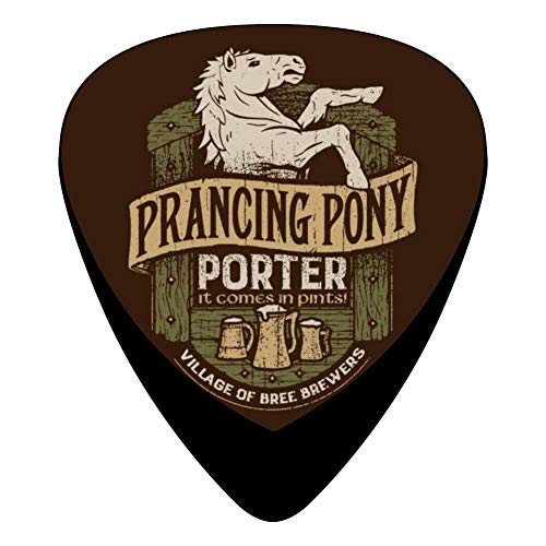 - Prancing Pony Porter 351 Shape Medium Classic Celluloid Picks, 12-Pack, For Electric Guitar, Acoustic Guitar, Mandolin, And Bass