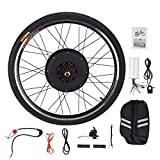 """Pinty RR1010 26"""" Rear Wheel 48V 1000W Ebike Hub Motor Conversion Kit with Dual Mode Controller & Disc Brake for Electric Bicycle Bike, Up to 28-30 MPH"""