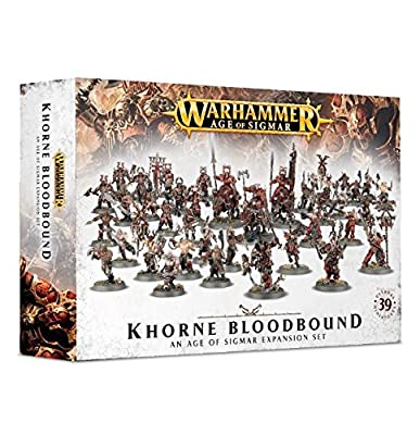 Warhammer Age of Sigmar Expansion: Khorne Bloodbound from Games Workshop