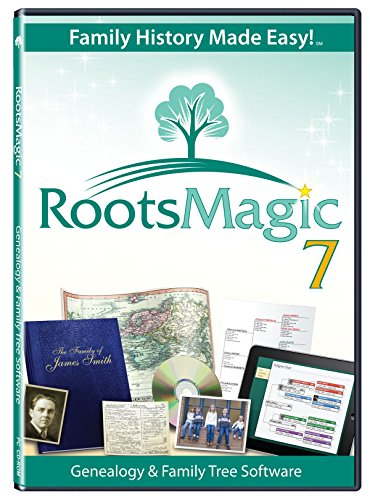 RootsMagic 7 Family Tree Genealogy Software (Windows 7 Family)