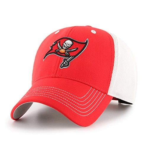 Tampa Bay Buccaneers Cap - NFL Tampa Bay Buccaneers Sling OTS All-Star MVP Adjustable Hat, Torch Red, One Size