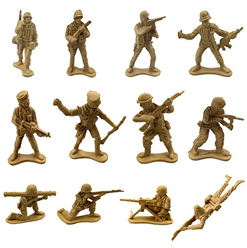 Review 100 Piece Military Figures