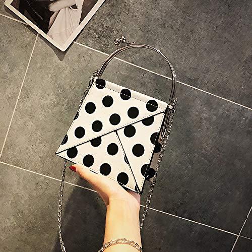 marée Blanc personnalité de Femme Sac Bag Messenger Mode épaule chaîne WSLMHH la Portable Sauvage Paquet coréenne Petit Version T5wxqnqHv