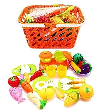 Amazon.com: YETHAN Juego de alimentos y juguetes de cocina ...