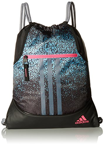 adidas Alliance Sublimated Prime Sackpack, Grey/Black, One ()