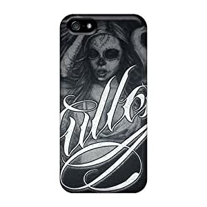 Scratch Resistant Hard For Iphone 5/5S Phone Case Cover With DIY Trendy Avenged Sevenfold Skin AaronBlanchette