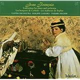Francaix: Piano Concertino, Ballets - Les bosquets de Cythere