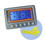 4 Channel K Type Thermometer SD Card Data Logger Thermocouple Temperature with Beeper and LED alarm