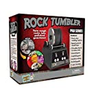Discover with Dr. Cool PRO Series Rock Tumbler - Turn Rocks into Stunning