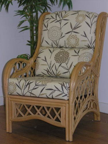BAMBOO NATURAL - Replacement CUSHIONS ONLY for Cane CHAIR