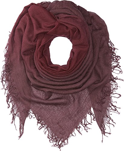 Chan Luu Women's Shadow Dye Cashmere and Silk Scarf Fig/Huckleberry One Size by Chan Luu