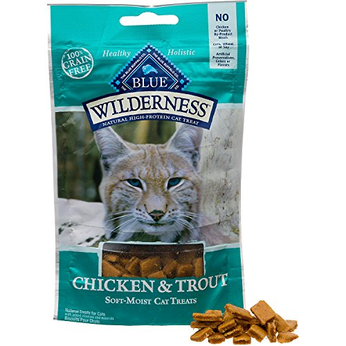 Blue-Buffalo-Wilderness-Soft-Moist-Grain-Free-Cat-Treats-Variety-Pack-4-Flavors-Chicken-Duck-Chicken-Trout-Chicken-Salmon-and-Chicken-Turkey-2-Oz-Each-4-Total-Pouches