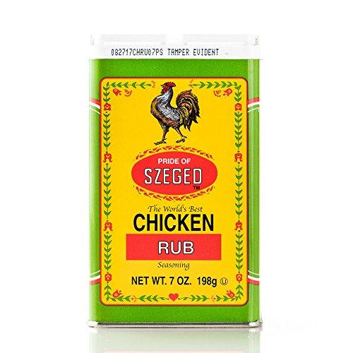 Pride of Szeged Chicken Rub