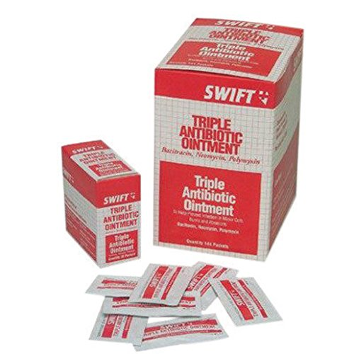Honeywell 231209G North by 1Gram Swift First Aid Foil Pack Triple Antibiotic Ointment (144 Per Box) -