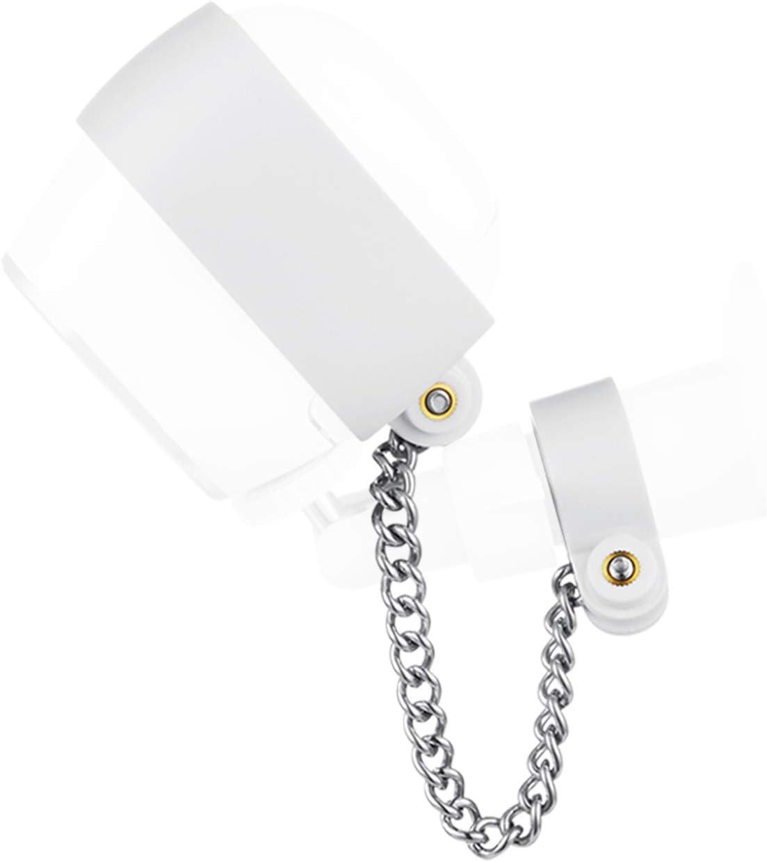 Wasserstein Anti-Diebstahl-Sicherheitskette kompatibel mit Arlo HD 2er-Pack, wei/ß Extra Sicherheit f/ür Ihre Arlo-Kamera