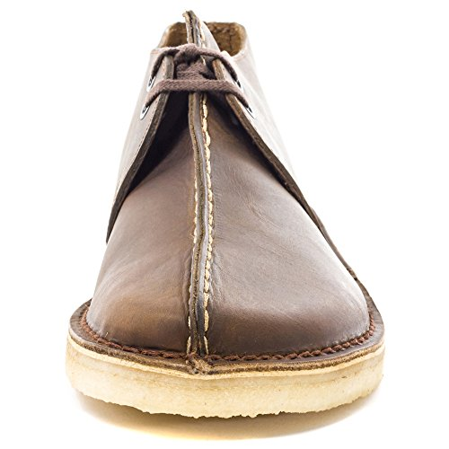 Clarks Originals Mens Desert Trek Beeswax Leather Shoes 47 EU