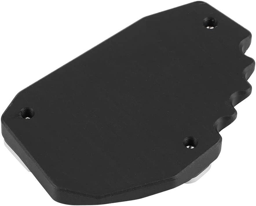 Motorcycle Black Kickstand Foot Side Stand Extension Pad Support Plate fit for Ducati Multistrada 1100 1200 1200