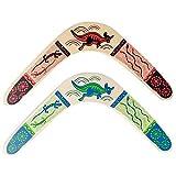 "14."" Wooden Boomerang- Assorted Colors"
