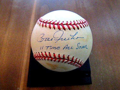Bill Freehan 11 Time All-Star Tigers Catcher Autographed Signature Vintage Baseball - JSA (Detroit Tigers Mlb Hand Signed)