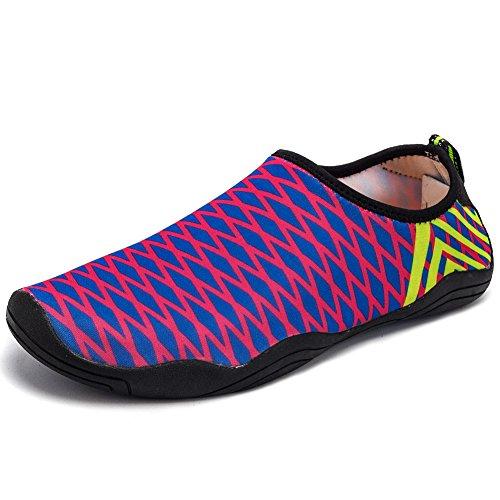 Shoes Beach Shoes LakeRom Shoes Dry Sneakers Sports Lightweight Men for Water Aqua Quick Women Rose35 xwBqYBOSn1