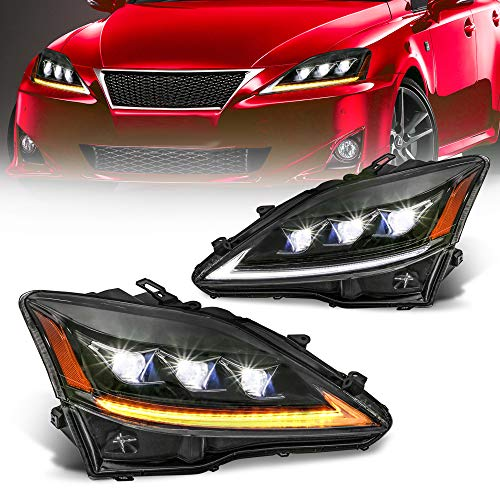 lexus is 350 headlights - 2