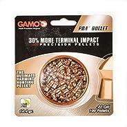 Gamo 632272154 PBA Bullet Pellets .22 Caliber Quantity of 100-Blister Pack, Black