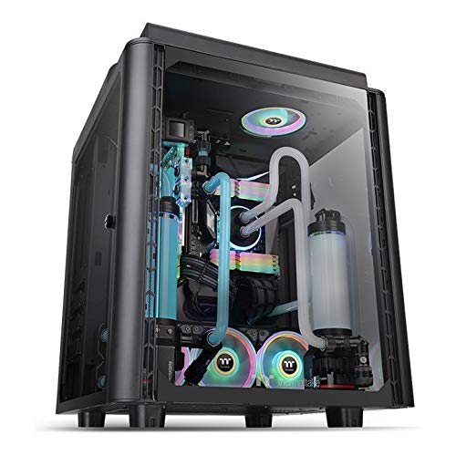 Thermaltake Level 20 Full Tower PC Case Tempered Glass/Single or Dual Loop/Water Cooling/Up to EATX