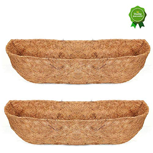 Window Box Basket - HFHOME 2PCS 24